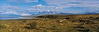 Clouds over a landscape, Las Cumbres, Parque Nacional, Torres Del Paine National Park, Patagonia, Chile