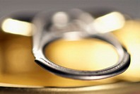 Close-up of the lid of a can