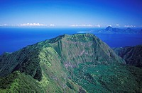 High angle view of a mountain, Hawaii, USA