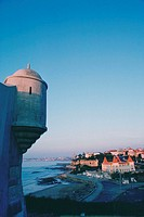 Turret on a fort, Estoril, Portugal