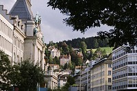 Buildings in a city, St. Gallen Canton, Switzerland