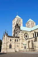 Cathedral, St., Paulus, Munster, North, Rhine-Westphalia, Germany