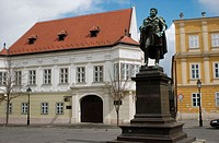 Karoly Kisfaludy Statue Gyor Hungary