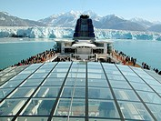 The Hubbard Glacier from the Infinity Cruise