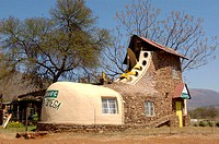 Museum, shoe-formed, house, Origstad, South, Africa