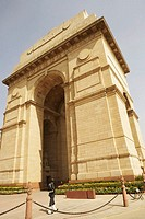 Low angle view of a monument, India Gate, New Delhi, India
