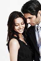 Close-up of a businessman with a businesswoman (thumbnail)