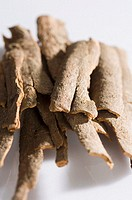 Close-up of a heap of Cinnamon