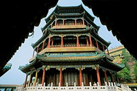 China, Beijing, Summer Palace, Temple of Buddhist Virtue