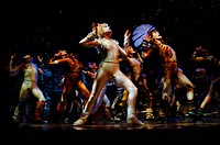 SG T, Theater, Musicals, ´Cats´, Komponist: Andrew Lloyd Webber, Szene: ´Jellicle Ball´, Ensemble, Deutsches Theater München, 1 4 2005, Musical, nach ...