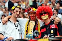 SG Sport, Fußball, Confederations Cup 2005, Gruppenspiel, Deutschland gegen Australien 4:3, Waldstadion Frankfurt, Deutschland, 15 06 2005, deutsche F...
