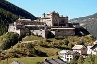 Château Queyras. Château-Ville-Vieille. Queyras. Hautes-Alpes. France.