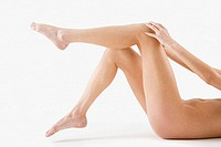 Legs of a nude woman (thumbnail)