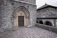 Chapel. Roncesvalles-Orreaga. Navarra. Spain.