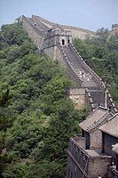 Great wall. Mutianyu, Huairou county. China