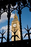 UK, London. Westminster. Big Ben