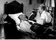 Film, ´Hochzeit auf Immenhof´, BRD 1956, Regie: Volker von Collande, Szene mit: Hans Nielsen und Heidi Brühl, Komödie, nach Roman von Ursula Bruns, Ma...