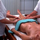 Health, Beauty, of corrugate-It, Ayurveda treatment, massage, Peeling, detail
