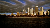 Australia, Sydney, skyline, cloud-mood, New South Wales, city, city, metropolis, high-rises, office buildings, office-high-rises, architecture, city-o...
