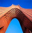 Azadi Freedom Monument in Tehran, Iran