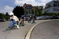 Down711, Longboard Downhill Racing team Stuttgart, personality-rights, series, heed street, precipitously, people, Longboarden, Longboarder, Longboard...