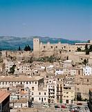 La Suda templar castle, now a ´parador de turismo´ (state-owned hotel), Tortosa. Baix Ebre. Tarragona province, Catalonia, Spain