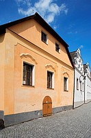 Historical houses, Tabor, Czech Republic
