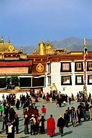 China, Tibet, Lhasa, Jokhang Monastery