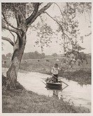 Photogravure  Photograph by Peter Henry Emerson  An illustration from 'Pictures from Life in Field and Fen'