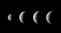 Clouds on Venus, 2004 This set of images taken in Northampton in May 2004 show Venus taken through a UV filter  Cloud details are clearly seen  The im...