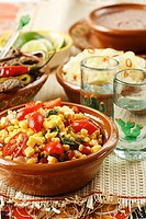 Mexican sweetcorn salad