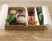 Assorted Asian dishes