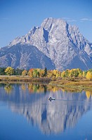 Grand Teton National Park in Autumn, Jackson, Wyoming (thumbnail)