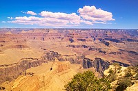 Edge of South Rim of Grand Canyon National Park