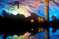 Reed Flute Cave in Guilin, Guangxi Province, People's Republic of China