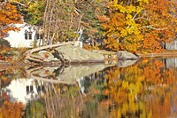 Mount Sunapee State Park in Autumn