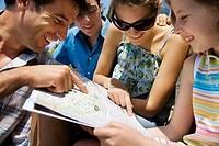 Family Reading City Map
