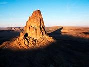Volcanic Plug in Desert