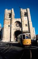 Sé cathedral, Lisbon. Portugal