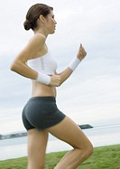Young woman running (thumbnail)