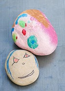 Decorated pebbles