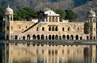 Jal Mahal (Lake Palace), Jaipur. Rajasthan, India