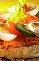 Recipe - Open face sandwich