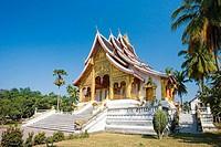 Sala Pha Bang Bldg. Royal Palace Museum. Luang Prabang City (W.H.). Laos. January 2007.