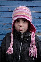 Girl eight years old, Sweden