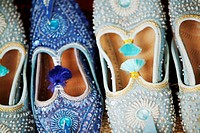 Oriental shoes, close-up