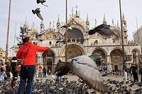 San Marcos basilica. Venice. Italy.