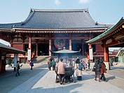 The Senso-ji Main Hall