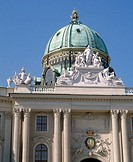 The Hofburg (Imperial Palace). Vienna, Austria