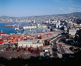Port of Valparaiso, Chile